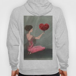 RED LOVE Hoody