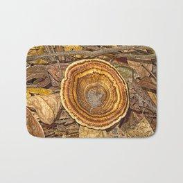 Bracket Fungi on the forest floor Bath Mat