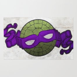 the purple turtle Rug