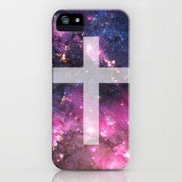 Galaxy Cross iPhone Case