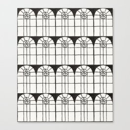 Window Pattern Canvas Print