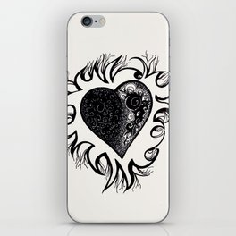 """If I Had A Heart, This Is What It Would Look Like"" iPhone Skin"