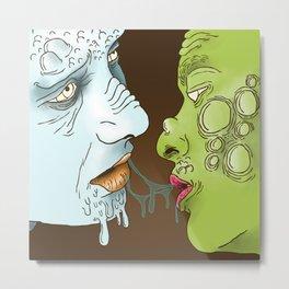Infection  Metal Print