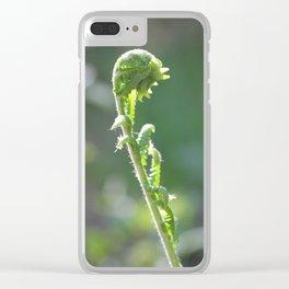 Unfurling Clear iPhone Case