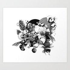 Busy Bee's Art Print