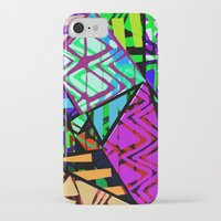 honeycomb iPhone & iPod Cases featuring Honeycomb by Sarah Bagshaw