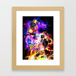 Neon JO Framed Art Print