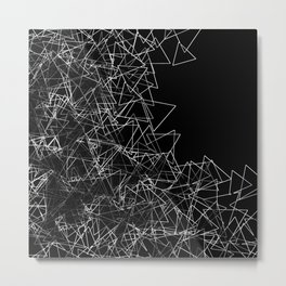 Oragami (triangular) Metal Print