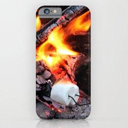 Roasting Marshmellows iPhone Case