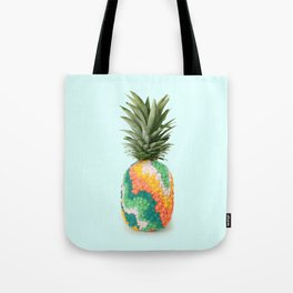 RETRO PINEAPPLE Tote Bag