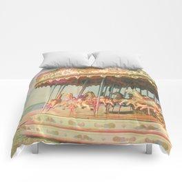 Circling Horses Comforters