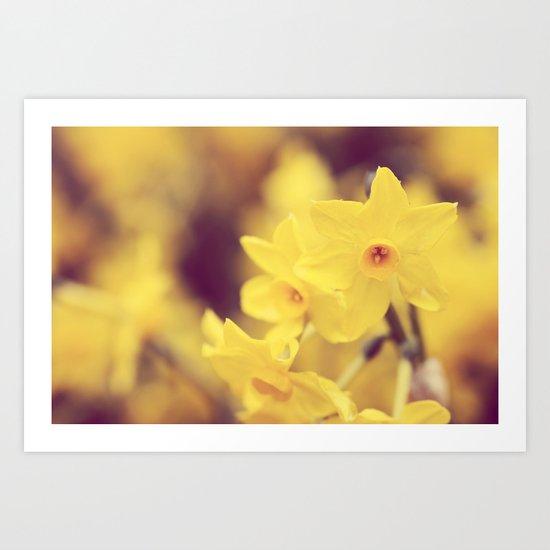 Happy Spring  - JUSTART © Art Print