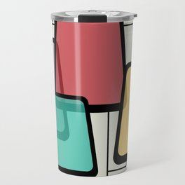 Mid-Century Modern Art Landscape 1.1 Travel Mug