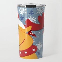 Rudolph Travel Mug