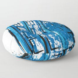 Police Public Call Box Doctor Who Floor Pillow