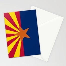 flag of Arizona, america,usa,Grand Canyon,Arizonan, desert,The Copper State,Phoenix,Tucson,Mesa Stationery Cards