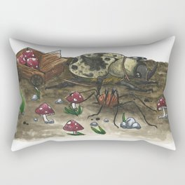 Little Worlds: The Harvest Rectangular Pillow