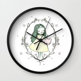The Tree of Life is Growing Wall Clock