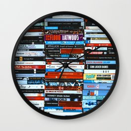 Books & Books Wall Clock