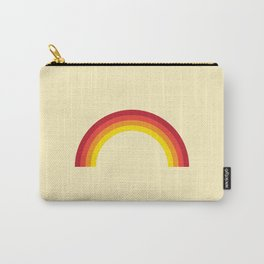 Vintage 70's Rainbow Carry-All Pouch