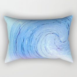 Ice Spiral Rectangular Pillow