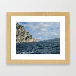 The Island of Capri Framed Art Print