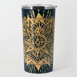 Bright lotus Travel Mug