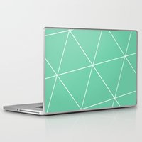 mia wallace Laptop & iPad Skins featuring Mia by Amber Gilded
