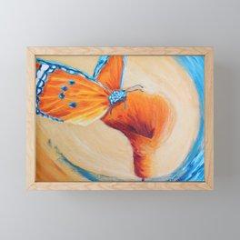 Sweet wonder aqua | Douce merveille aqua Framed Mini Art Print