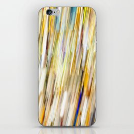Bright Shower of Color iPhone Skin