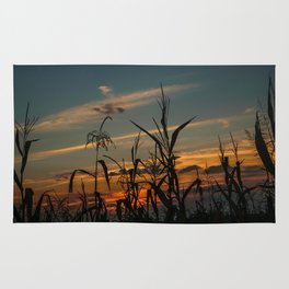 Maizen in the sunset Rug