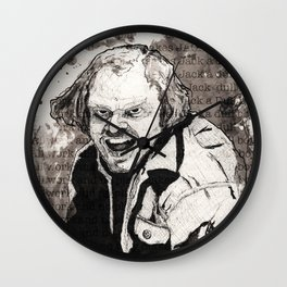 All work and no play Wall Clock