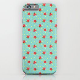 Watermelon Wishes iPhone Case