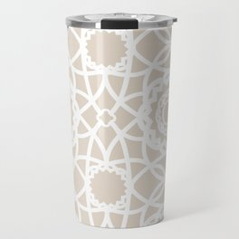 Palm Springs Macrame Lattice Lace Travel Mug