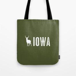 Deer: Iowa Tote Bag