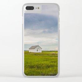 Arena Township School, North Dakota 4 Clear iPhone Case