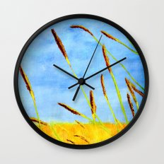 Touch of gold  Wall Clock