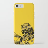 transformers iPhone & iPod Cases featuring Transformers: Bumblebee by Skullmuffins
