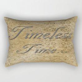 Timeless Time Rectangular Pillow
