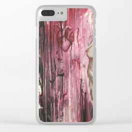 The Hollow and The Ache Clear iPhone Case