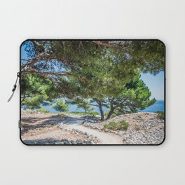 Calanques near Cassis in a summer day Laptop Sleeve