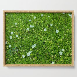 A Piece of Nature Serving Tray