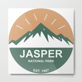 Jasper National Park Metal Print
