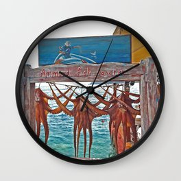 Ammoudi Fish Tavern, Oia Wall Clock