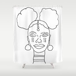 Heiress Collection Shower Curtain