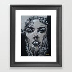 Connect With Me Framed Art Print