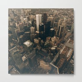 NYC from above - Ariel Image Metal Print