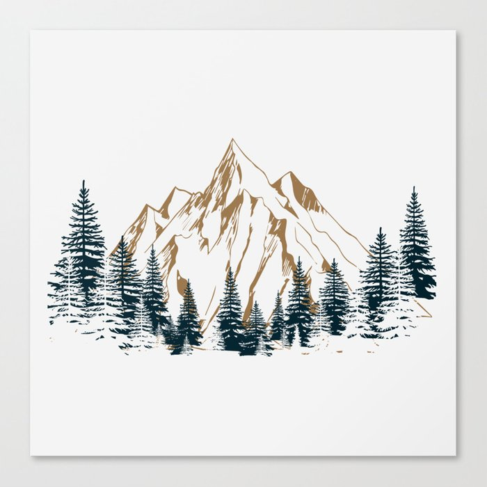 mountain # 4 Canvas Print