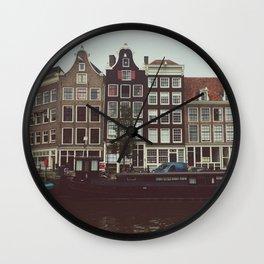 Jordaan District, Amsterdam Wall Clock