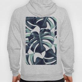 Tropical Monstera Leaves Dream #6 #tropical #decor #art #society6 Hoody